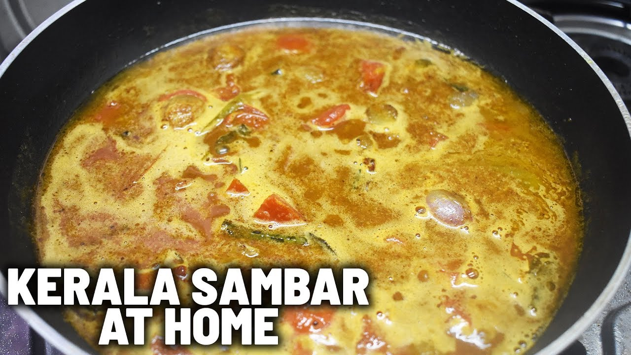 Kerala Style Sambar Recipe | How to make Kerala Style Sambar | Food Chutney