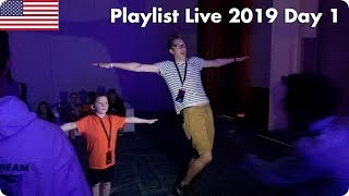Dance Off Against Gavin  Playlist Live 2019 Day 1  Evan Edinger Travel