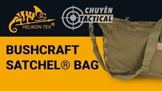 [Vietsub] Túi đeo chéo Helikon-Tex Bushcraft Satchel Bag - Chuyentactical.com