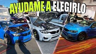 BUSCANDO EL NUEVO WRAP PARA EL BMW M4    ALFREDO VALENZUELA