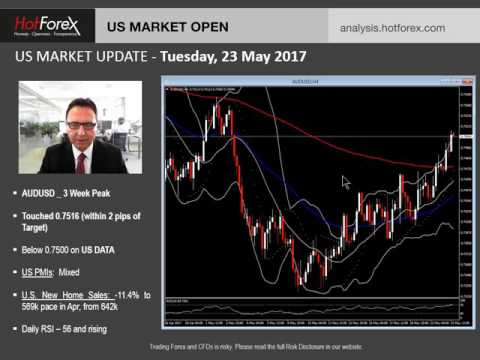 US Market Update | May 23, 2017