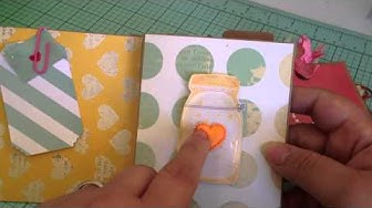 Cute and easy pocket flip book-Lucky Charm