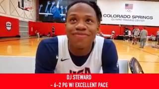 DJ Steward: 2019 USA Basketball Junior Minicamp Interview