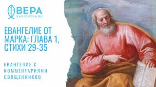 Евангелие от Марка, I: 29-35. Исцеление тещи Петра. Комментирует о. Дмитрий Барицкий