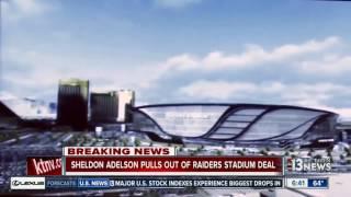Sheldon Adelson no longer involved in proposed Raiders stadium