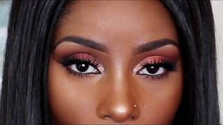 Dark Skin Makeup Urban Decay Naked Heat Palette Please Subscribe Kimbella MD
