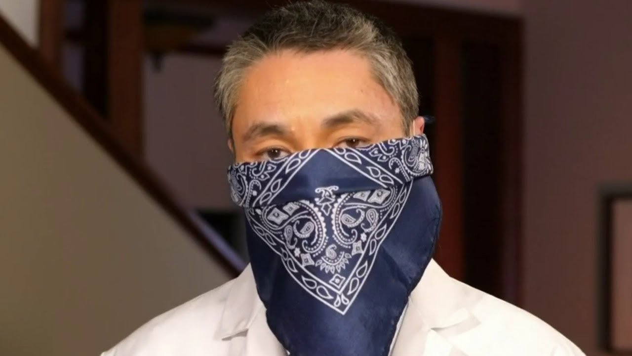 How To Make A Face Mask With A Bandana For Coronavirus