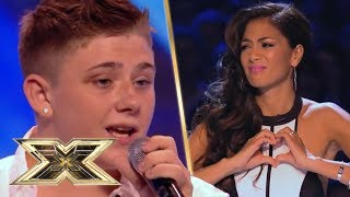 16 year old Nicholas McDonald STUNS with Christina Perri cover | The X Factor UK