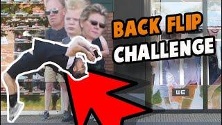 BACKFLIPS CHALLENGE 2 IN AMSTERDAM  !  | WORKBODY