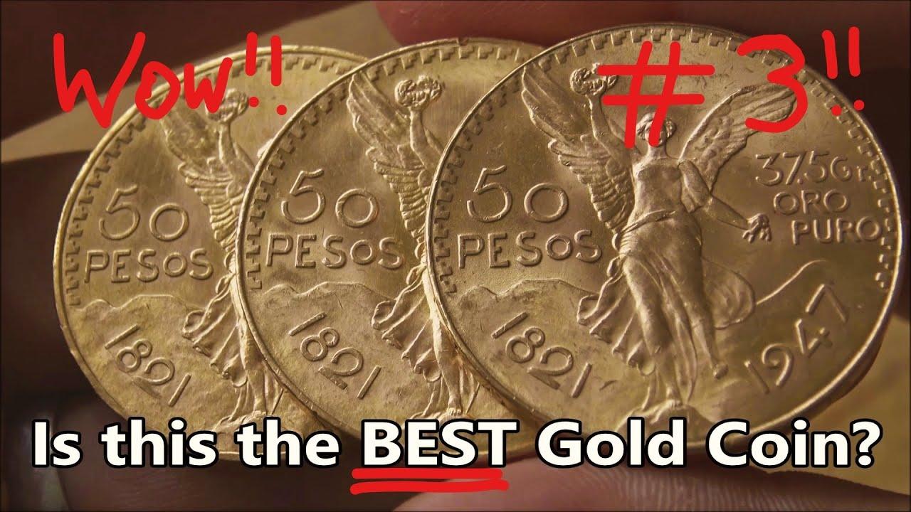 Gold Coin Ever 50 Pesos