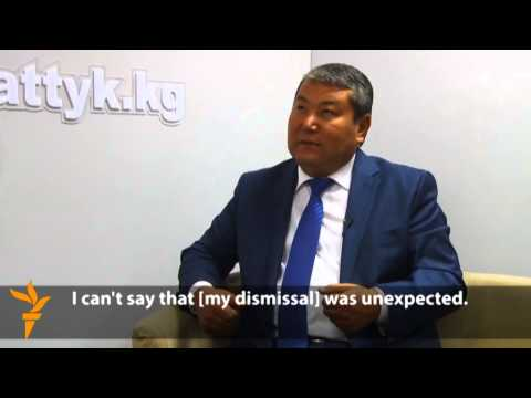 Kyrgyz Ex-Mayor Merlis Myrzakmatov On His Surprise Dismissal