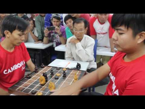 Cambodia Traditional Chess (Oukchak Trang) Competition  2017