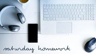 Saturday Homework (Chill Jazz Hip Hop Study Music)
