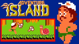 Adventure Island (NES) | Playthrough