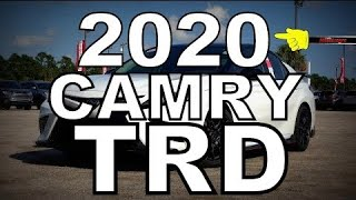 2020 Toyota Camry TRD - Detailed Look
