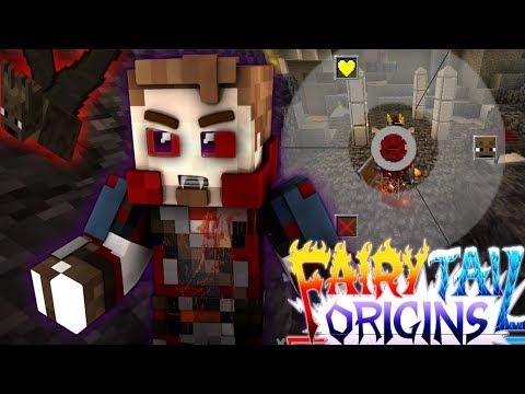"Minecraft Fairy Tail Origins #25 ""I'M A VAMPIRE?"" (Minecraft Modded Roleplay) S3E25"