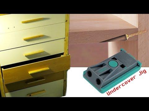 Тумба с ящиками для инструмента ЛЕГКО | Schubladen | Undercover Jig | PTS 10