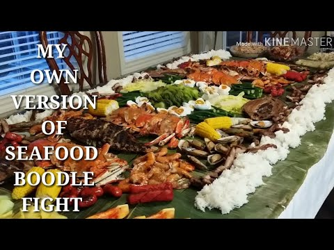 COOKING 101 : BOODLE FIGHT THANKSGIVING DINNER / PHILIPPINES MOST WELL KNOWN FAMILY GET TOGETHER...