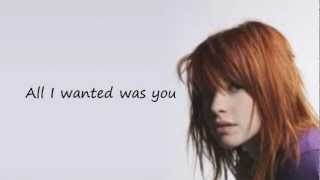 All I Wanted Paramore~ Lyrics