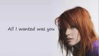 All I Wanted Paramore~ Lyrics