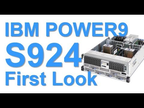 IBM POWER9 Scale-Out S924 First Look