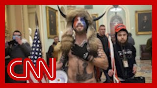 New video of 'QAnon Shaman' at Capitol riot angers judge