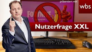 Lifetime Ban Für Jarvis Bei Fortnite | Nutzerfrage XXL | Rechtsanwalt Christian Solmecke