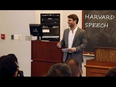 Rob Dahm speech at Harvard University on starting a business