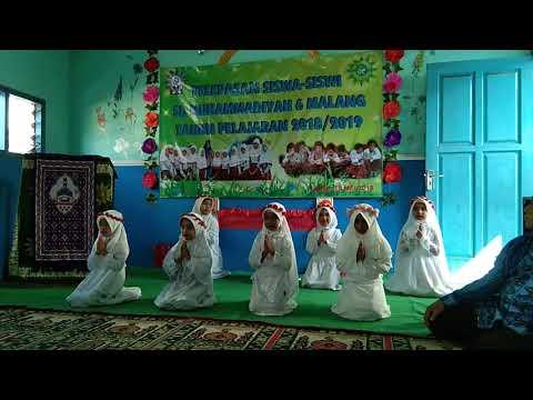 Tari Marhaban Ya Ramadhan Ala SD Muhammadiyah 6 Kota Malang