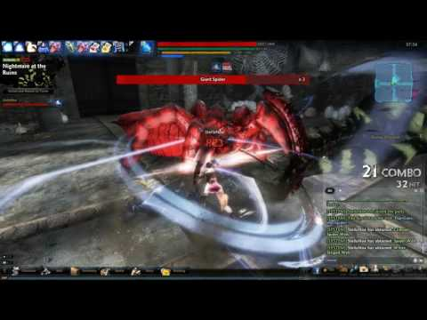 Vindictus Private Server Indonesia, Newbie Testing out Soloing Normal Raid