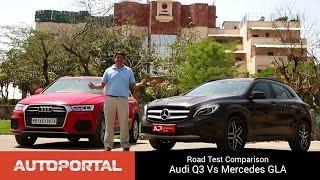 Audi Q3 Vs Mercedes Benz GLA Test Drive Comparison - Autoportal