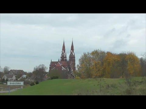 Lithuania autumn  /  Siluté  and  Svéksna.