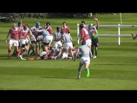 Sherborne Rugby 1st XV Highlights 2015