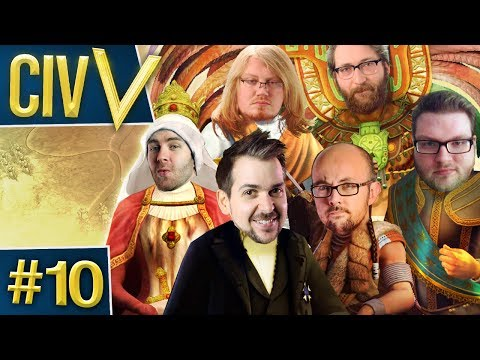 Civ V: Retro Rumble #10 - Flax's Yard Sale