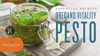 Essential Edibles: Oregano Vitality™ Pesto | Young Living Essential Oils
