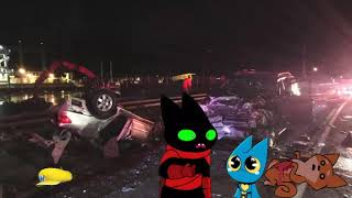 (ASMR) Mao Mao, Adorabat and Bao Bao gets into a car crash (Naturally), Bao Bao fucking dies.mp3