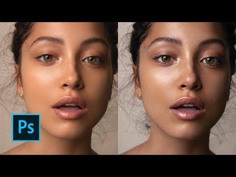 How To Correct Skin Tones // Skin Tone Colour Grading Tutorial In Photoshop (Editorial Beauty)