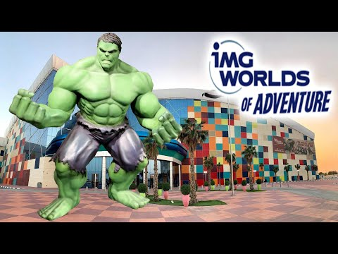 IMG Worlds Of Adventure 2019 Tour & Review With Hyde