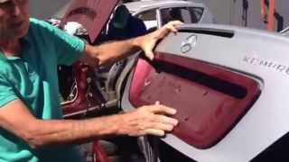 How to open Mercedes trunk-boot without Key