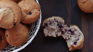 Gluten Free Blueberry Muffins + Special Project To Support