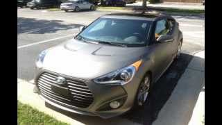 hyundai veloster turbo spied on the streets