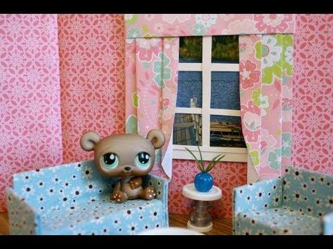 How to Make a Dollhouse Window with Curtains : Bonus Project: Graduation Stuff