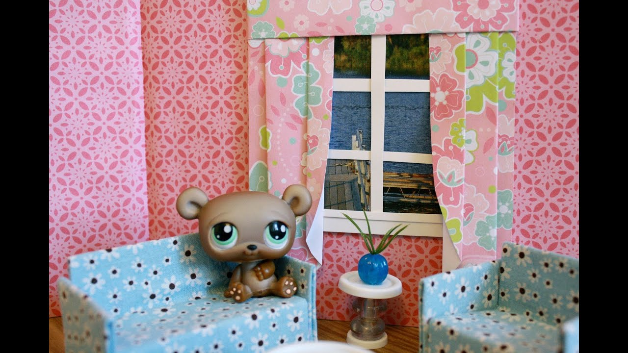 How To Make A Dollhouse Window With Curtains : Bonus Project: Graduation  Stuff   YouTube