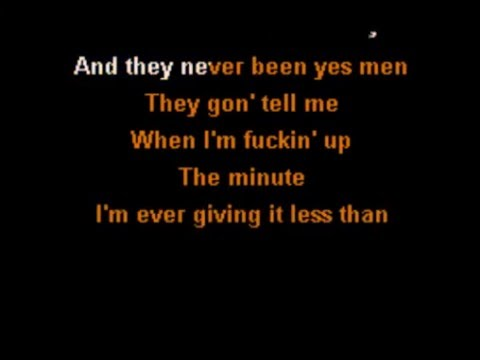 Yelawolf ft. Eminem - Best Friend (Karaoke Instrumental) On Screen Lyrics