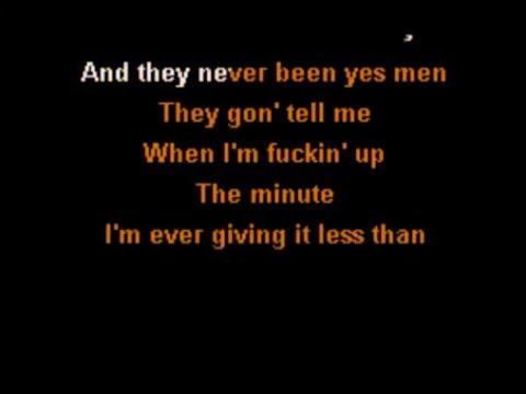 Yelawolf ft. Eminem - Best Friend (Karaoke Instrumental) On Screen Lyrics