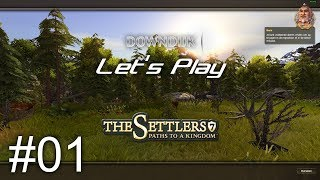 Let's Play The Settlers 7 - Starting with the Game #1