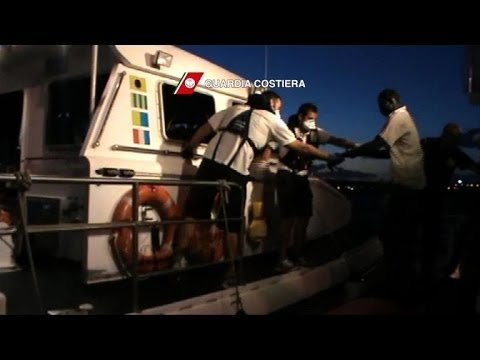 Near 100 African migrants rescued in Strait of Sicily