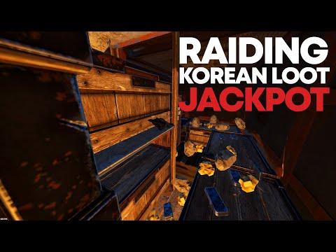 ONLINE RAIDING KOREAN ZERG for JACKPOT LOOT | Rust thumbnail