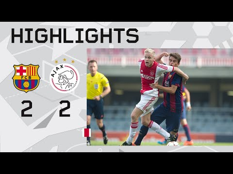 Highlights FC Barcelona U19 - Ajax U19 (UEFA Youth League)