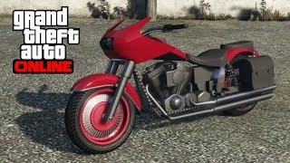 GTA 5 Online - How to Find a Western Bagger (Franklin's Motorcycle)